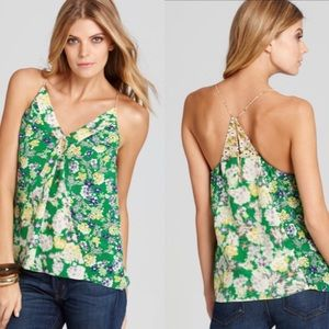 Rebecca Taylor Garden Floral Silk Camisole